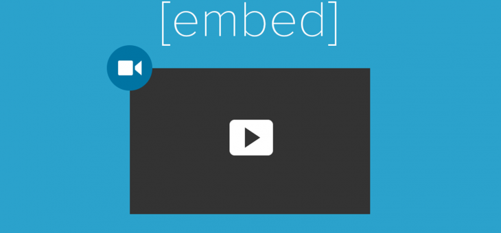 Embedding Videos Easy